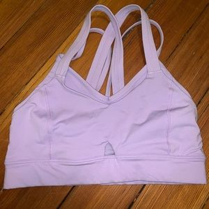 Lululemon Lilac Purple Sports Bra sz 2